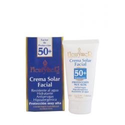 Crema solar facial SPF-50