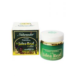 Crema Nutritiva Jalea Real+Aloe Naturandor