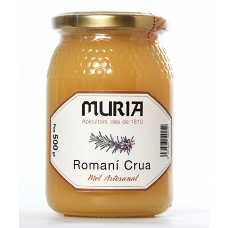 ROMANÍ Crua 500 g  - MEL MURIA