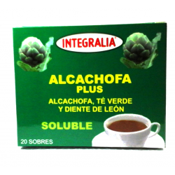 ALCACHOFA PLUS Soluble 20 sobres -  INTEGRALIA