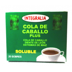 COLA DE CABALLO PLUS Soluble 20 sobres -  INTEGRALIA