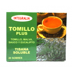 TOMILLO PLUS Soluble 20 sobres -  INTEGRALIA