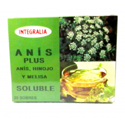 ANÍS PLUS Soluble 20 sobres -  INTEGRALIA