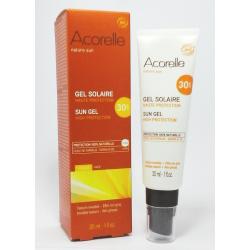 GEL PROTECTOR SOLAR FACIAL 30 SPF 30 ml - Acorelle